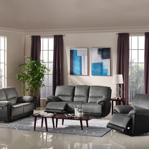 hr029 2tgbb23 husky arabia reclining sofa set