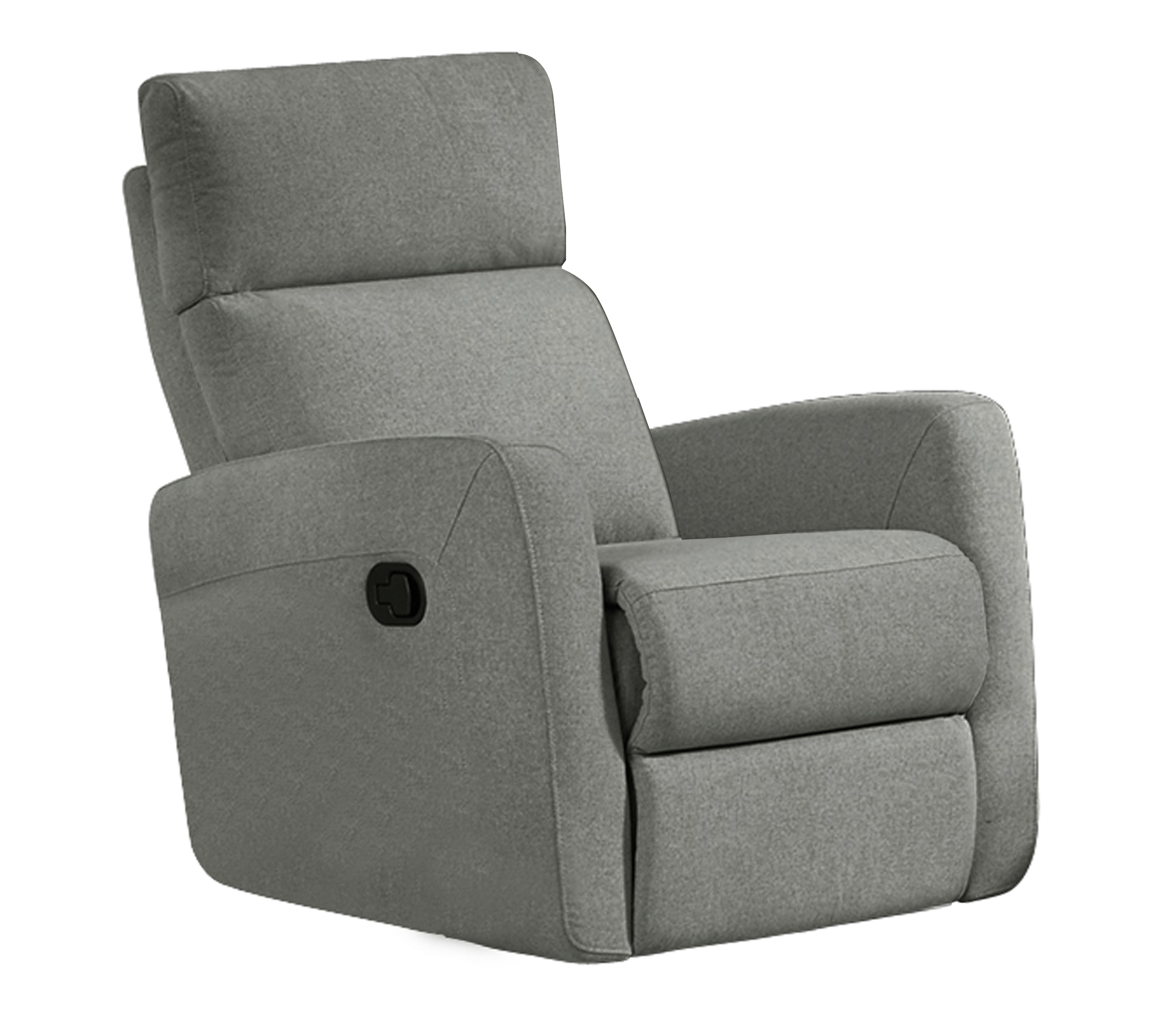 HR045G (K26) Husky Victoria Reclining Chair Gray