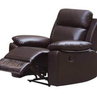 HR046B (G03) Husky Leo Reclining Chair Brown