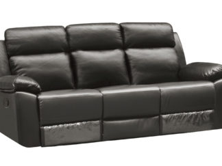 HR046G (G12) Husky Leo Reclining Sofa 3S Gray