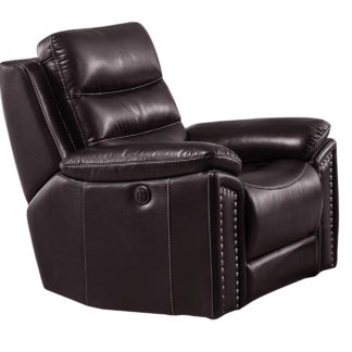 HR050 B (G03) Husky Jetson Reclining Chair Brown