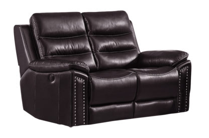HR050 B (G03) Husky Jetson Reclining Loveseat Brown