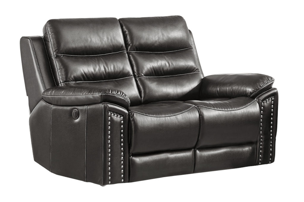 Jetson Power Reclining Loveseat Leather Air Code G12