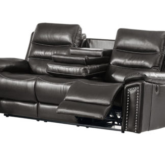 HR050 G (G12) Husky Jetson Reclining Sofa Gray