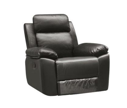 HR046G (G12) Husky Leo Reclining Chair 1S Gray