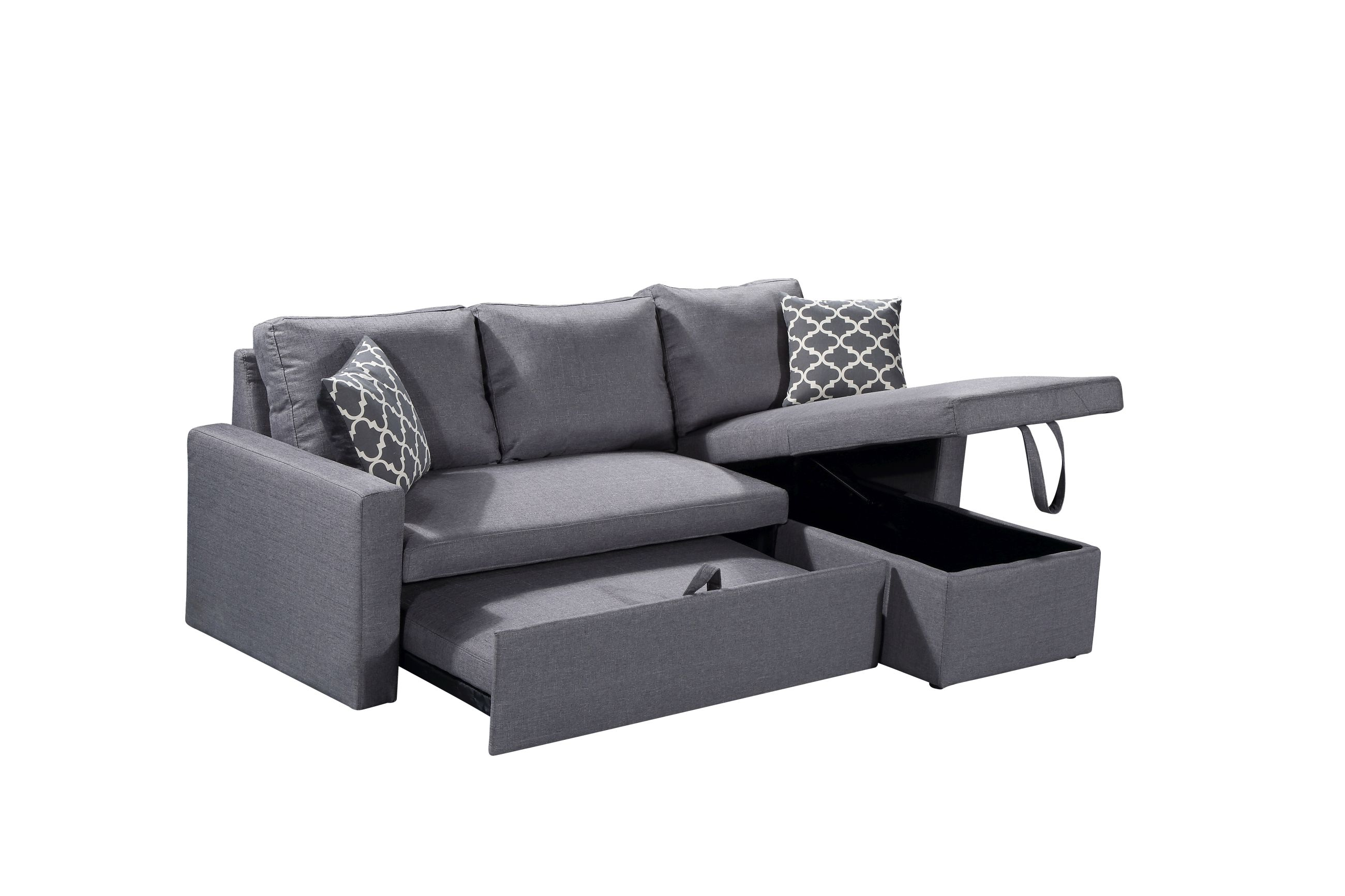 Hs05 Husky Furniture Zara Reverseable Sectional Sofa 3