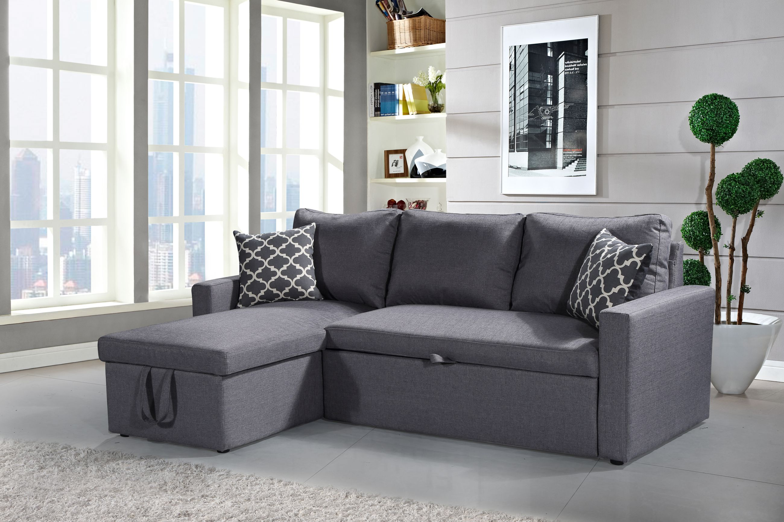 sectional sofa bed with storage. HS05-Husky-Furniture-Zara-Reverseable-Sectional-Sofa-3. Sectional Sofa Bed With Storage E