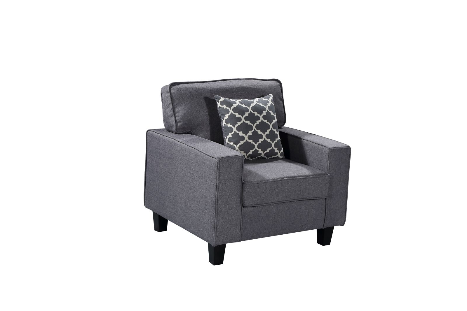 HS280 Husky Furniture Zara Chair Gray W