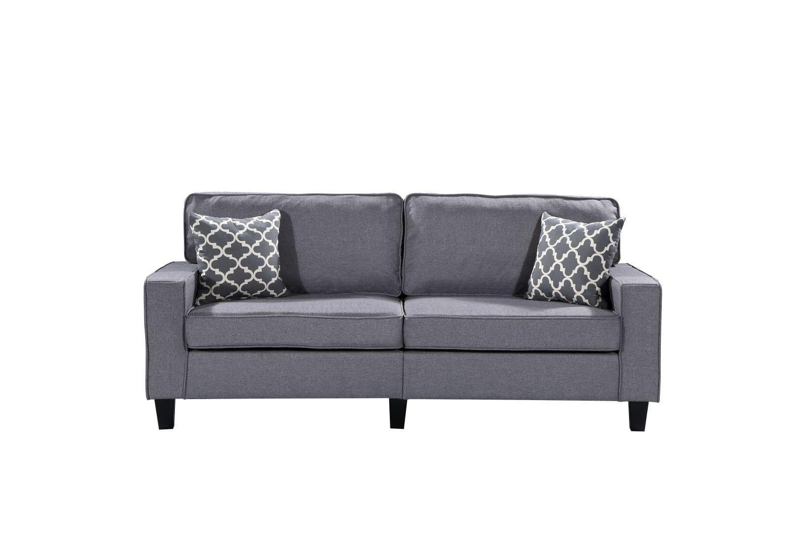 HS280 Husky Furniture Zara Sofa Gray W