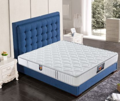 2 Velocity Husky furniture and mattress Velocity spring coils Tight top mattress 3