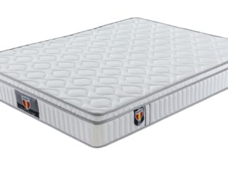 3 Velocity Plus Husky furniture and mattress Bonnell coil euro Pillow top mattress