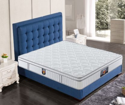 3 Velocity Plus Husky furniture and mattress spring coils euro Pillow top mattress 3