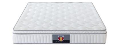 3 Velocity Plus Husky spring coils euro Pillow top mattress 2