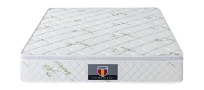 4 Kingdom Husky furniture and mattress five star comfort Pockect coil Bambo Cover euro Pillow top mattress 3
