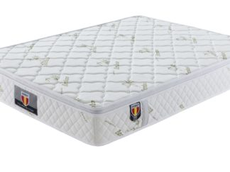 4 Kingdom Husky furniture and mattress five star comfort Pockect coil Bambo Cover euro Pillow top mattress