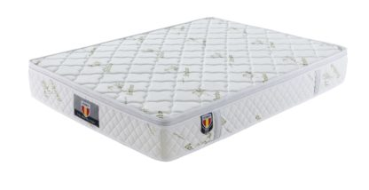 4 Kingdom Husky furniture and mattress five star comfort Pockect coil Bambo Cover euro Pillow top mattress