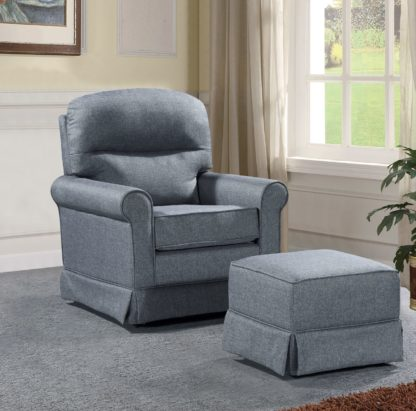 HG328-Husky-Furniture-Laura-Glider-Ottman-Grey-1