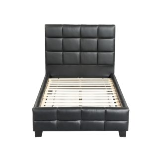 Amelia Single Bed - 8002 -Husky-Furniture- Single - Double -Queen- King-Black-1