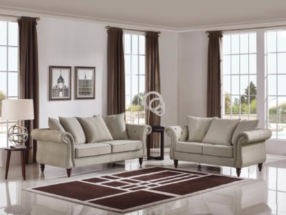 HD1769 -Tessa- Sand-K06.Fabric .Husky Designer Furniture.Sofa and loveseat
