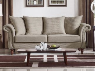 HD1769 -Tessa Sofa - Sand-K06.Fabric .Husky Designer Furniture