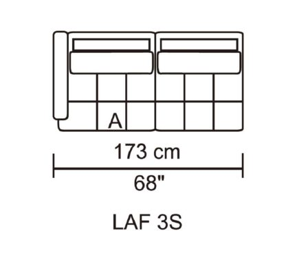 HD1800 - Leggo - LAF 3S.Husky Designer Furniture