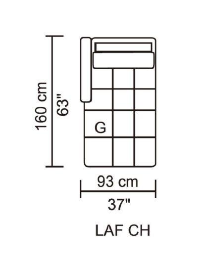 HD1800 - Leggo - LAF CH.Husky Designer Furniture