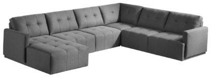 HD1800 - Leggo - sectional sofa LHS-Grey.Husky Designer Furniture-3