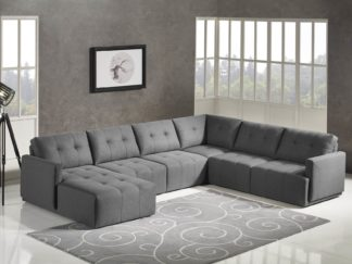 HD1800 - Leggo - sectional sofa LHS-Grey.Husky Designer Furniture