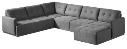 HD1800 - Leggo - sectional sofa RHS-Grey.Husky Designer Furniture
