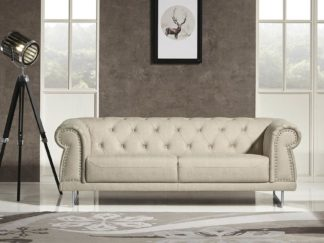 HD1809 - Mason SOFA .Beige -G01- Leather .Husky Designer Furniture.2