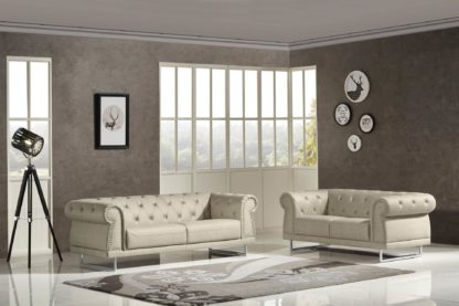 HD1809 - Mason.Beige -G01- Leather .Husky Designer Furniture.1