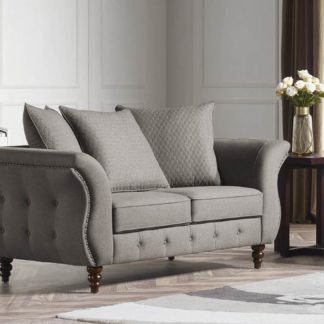 HD1811 -Jesse LOVESEAT- Taupe-K25.Fabric .Husky Designer Furniture.Sofa and loveseat.2