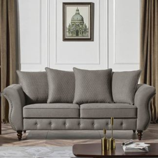HD1811 -Jesse SOFA- Taupe-K25.Fabric .Husky Designer Furniture.Sofa and loveseat