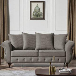 Jesse Designer Sofa – Fabric Code #  K25 Taupe