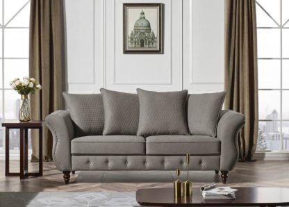 HD1811 -Jesse SOFA- Taupe-K25.Fabric .Husky Designer Furniture.Sofa and loveseat