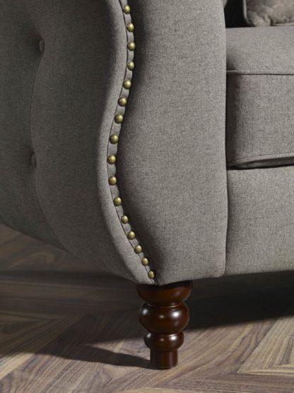 HD1811 -Jesse- Taupe-K25.Fabric .Husky Designer Furniture.Sofa and loveseat.Side2