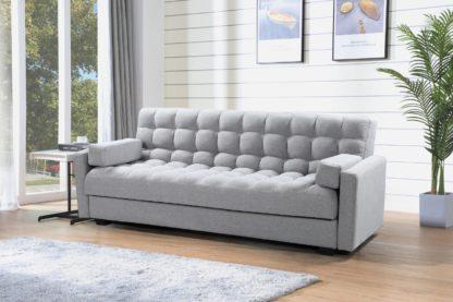 HSBM12-Husky-Furniture-Sara Sofa Bed - Klick Klack -3.in.1-Sofa-Bed-Storage-Grey.2019