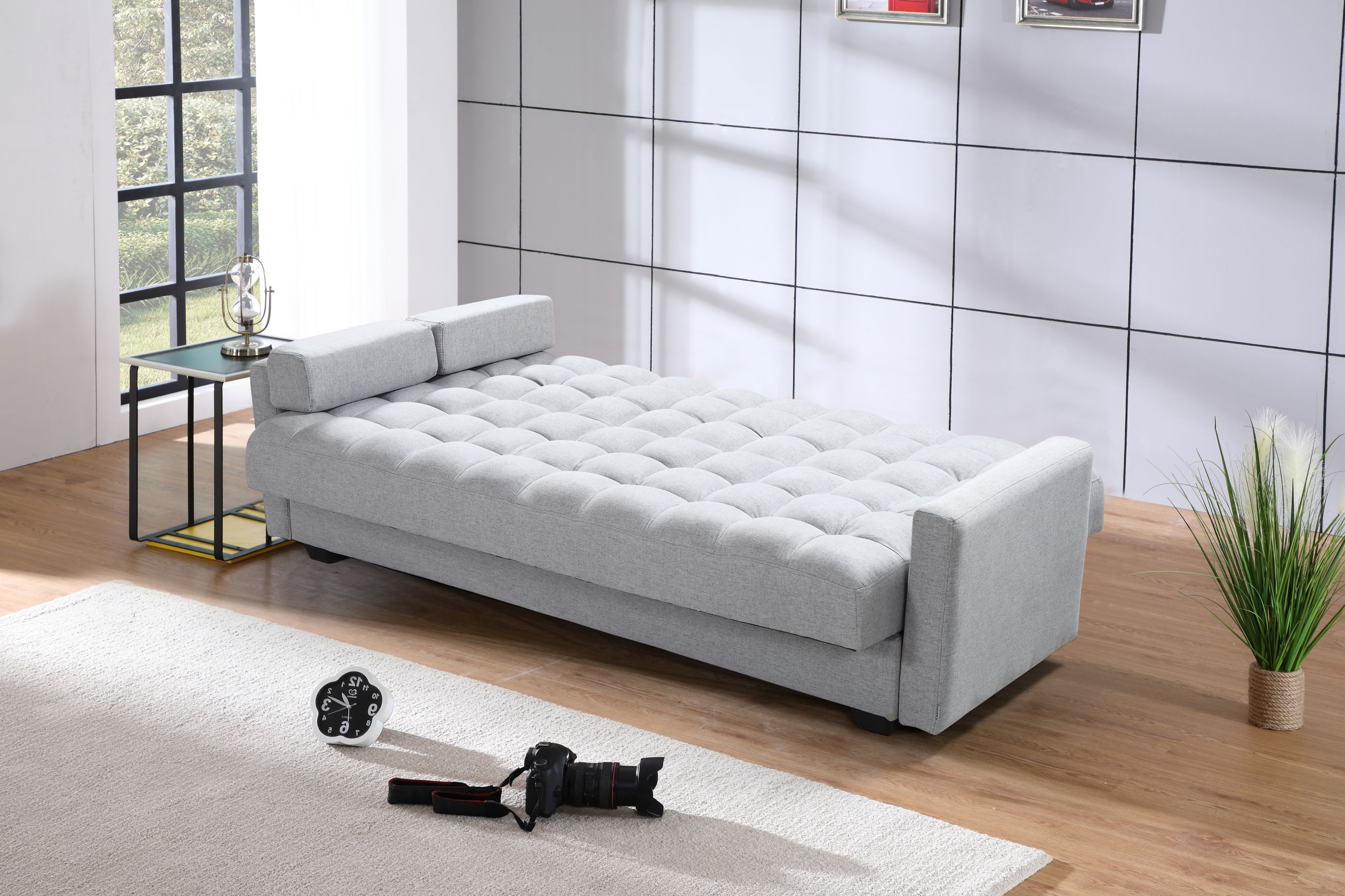 Sensational Sara Sofa Bed 3 In 1 Sofa Bed Storage Grey Theyellowbook Wood Chair Design Ideas Theyellowbookinfo