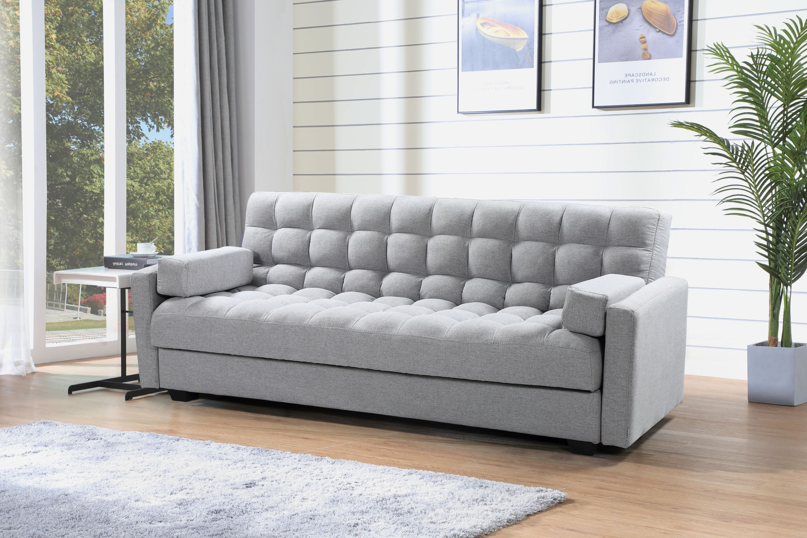 Peachy Sara Sofa Bed 3 In 1 Sofa Bed Storage Grey Theyellowbook Wood Chair Design Ideas Theyellowbookinfo