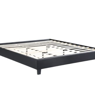 HB805-Paragon Platform Bed - King - Husky-Furniture- Black-1