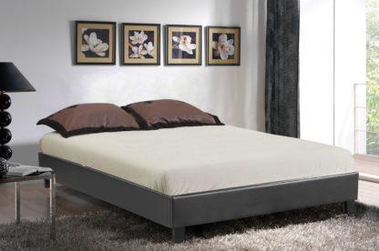 HB805-Paragon Platform Bed - King - Husky-Furniture- Black