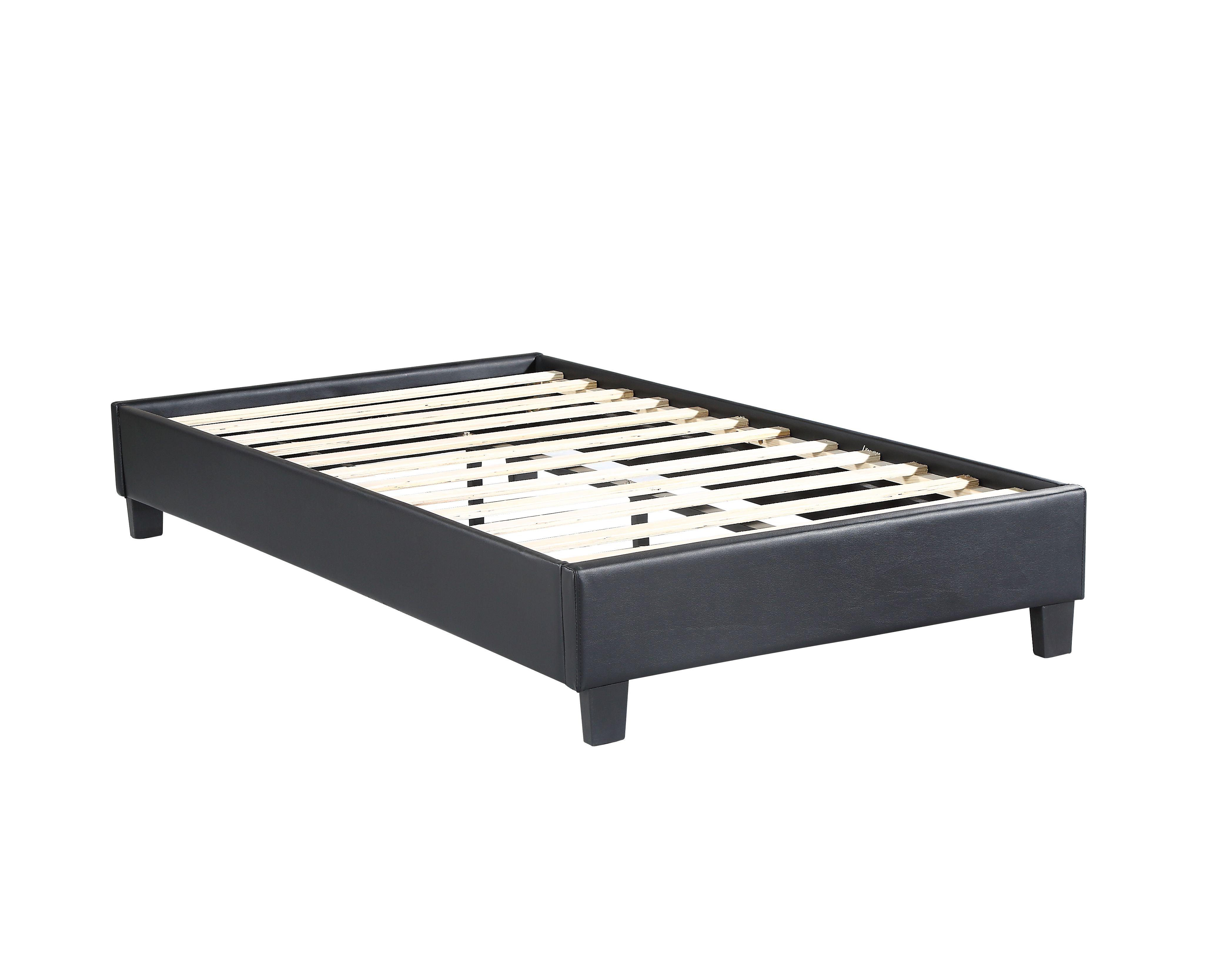 Husky Paragon Platform Bed Black Twin Free Shipping In Canada