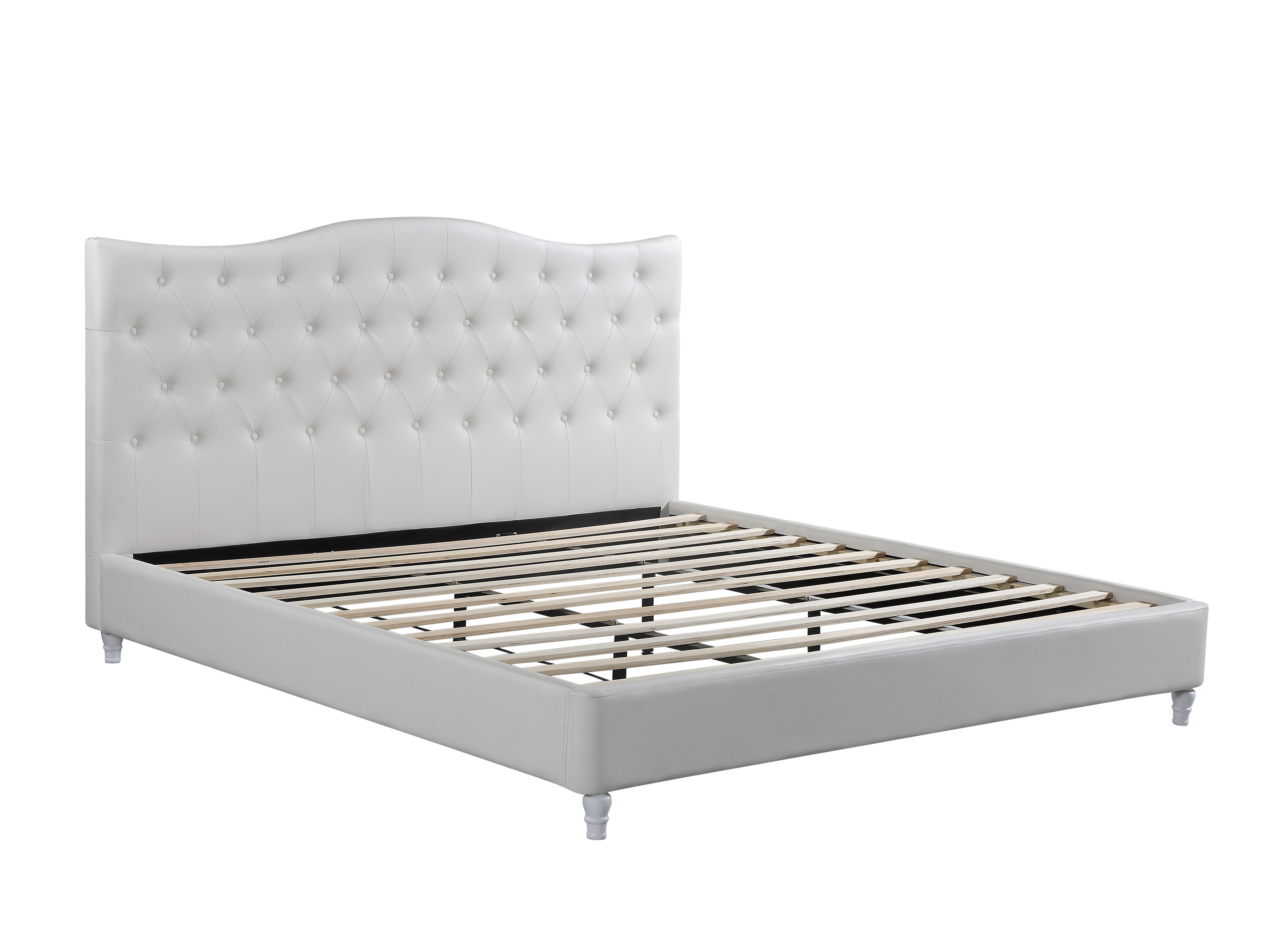 Husky Lily Platform Bed King White Free Shipping