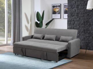 HS1009- Charcoal - Husky Furniture Transformer - convertible Sofa Bed - Sofa 1