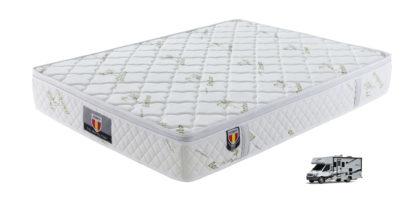 RV QUEEN Kingdom BAMBOO mattress five star comfort Pockect coil euro pillow top