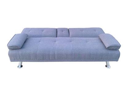 HS4122-Husky-Furniture- Spencer Sofa Bed - Klick Klack Charcoal