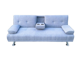 HS4122-Husky-Furniture- Spencer Sofa Bed - Klick Klack Grey