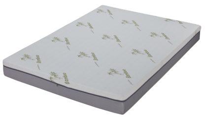 Husky 8 inch gel memory foam Mattress with zipper cover Double Sided