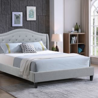 Queen-Twilight Bed-013-Husky Platform bed Queen and-Grey