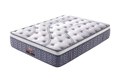 Celeste Husky furniture and Mattresses five star comfort HD Pocket Springs with Gel memory foam euro Pillow Top mattress